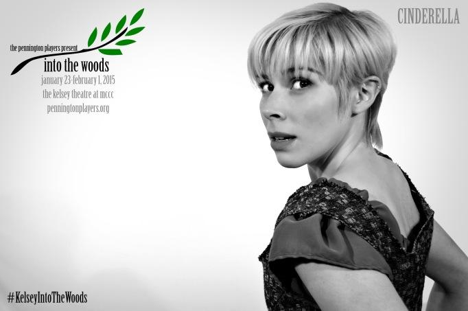 "Christina Kosyla as ""Cinderella"" in INTO THE WOODS."