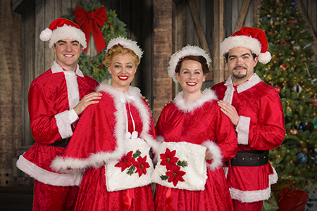 Mm Stage Productions Presents Irving Berlins White Christmas At The Kelsey Theatre